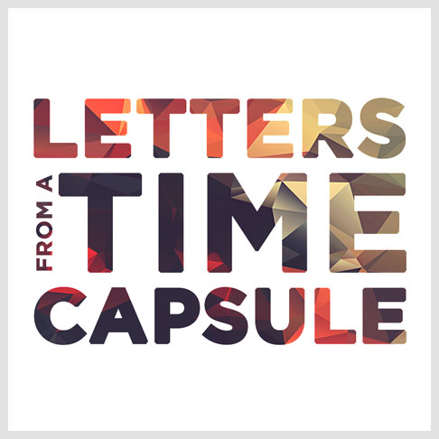 Strange Fiction - Letters From a Time Capsule pre-release cover